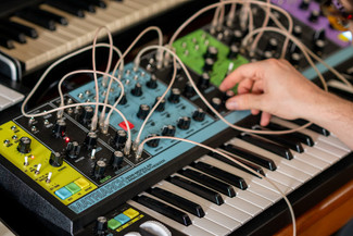 Ghostly International Artist Max Ravitz (Patricia) Creates New Track with Moog Matriarch