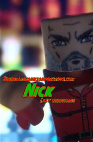 "Ed Johnson Presents: NERD! Verse Comics: ""NICK! Last Christmas"" Issue 2"