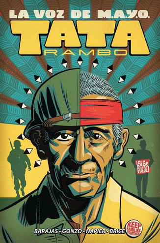 ORIGINAL GRAPHIC NOVEL LA VOZ DE M.A.Y.O: TATA RAMBO EXPLORES IMPORTANT SLICE OF HISTORY, HITS SHELV