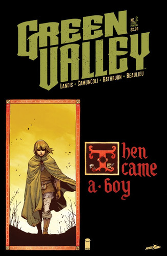IMAGE COMICS: GREEN VALLEYFAST-TRACKED FOR SECOND PRINTING