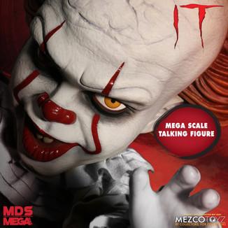 MEZCO TOYZ - MDS Mega Scale IT (2017) Talking Pennywise