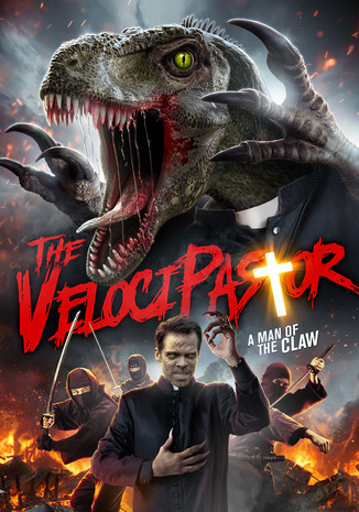 The VelociPastor stomps into San Diego Comic-Con JURASSIC PRIEST EMERGES IN FIRST TRAILER!