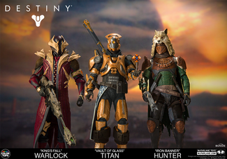 MCFARLANE TOYS LINKS UP WITH BUNGIE TO BECOME LEGEND AND CREATE TOYS BASED OFF THE SMASH HIT VIDEO G