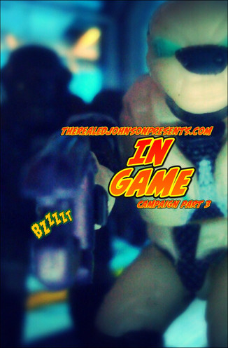 """Ed Johnson Presents: NERD! Verse Comics: """"In Game - The Campaign"""" Issue 3"""