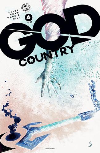 GOD COUNTRYSERIES BURNS THROUGH COPIES
