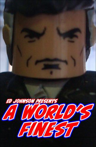 "Ed Johnson Presents NERD! Verse Comics ""A World's Finest"" Issue 2"