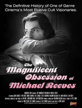 "The World Premiere of ""The Magnificent Obsession of Michael Reeves"" to take place at FrightFest Lond"