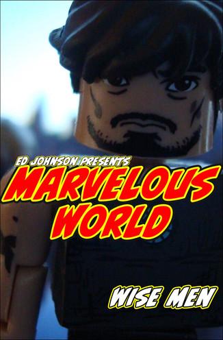 "Ed Johnson Presents NERD! Verse Comics MARVELOUS WORLD #5 ""Wise Men"""