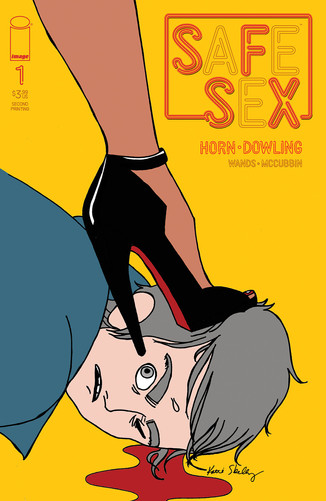 IMAGE COMICS RUSHES SEXPERT WRITER TINA HORN & ARTIST MICHAEL DOWLING'S FORTHCOMING SFSX BACK TO