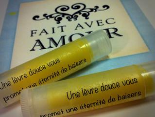 Les Petites Recettes Cosméto : le baume à lèvres