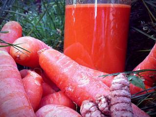 Un jus de carottes pour avoir les cuisses roses ?