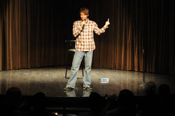 Me flipping off audience Chicago July 2010