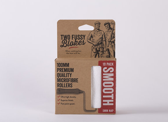 """Two Fussy Blokes Mini Roller Sleeve 4""""-  5mm Nap (smooth)"""