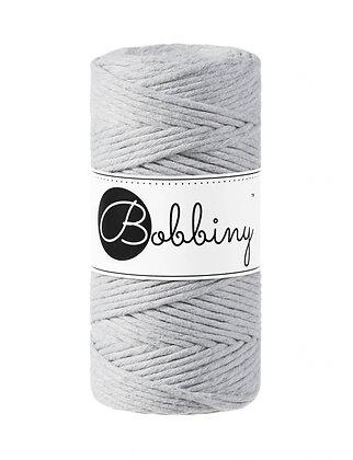 Bobbiny macramé 3mm - light grey
