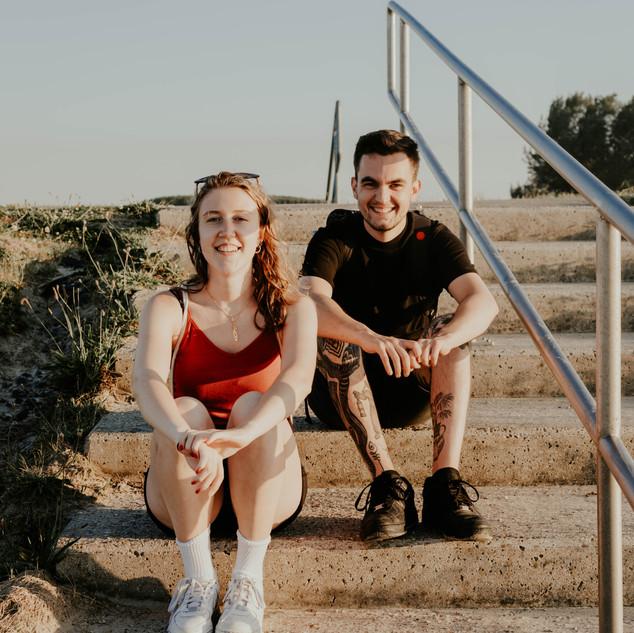 Koppel fotografie Jannis en Stéphanie
