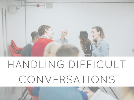 Handling Difficult Conversations