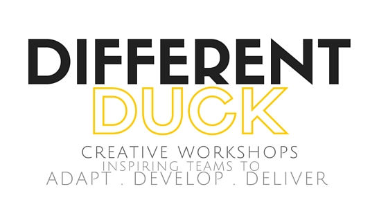 Different Duck , creative workshops , inspire teams, adapt, develop, deliver, team skills, corperate training