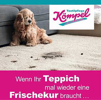 Teppichreinigung, wir reinigen fachmännisch Ihre Teppiche