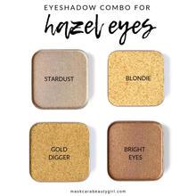 Hazel/green eyed palette