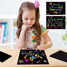 Rainbow Scratch Pads