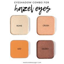 Hazel/Green eye palette