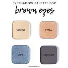 Brown Eyed palette