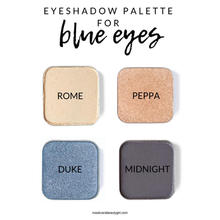 Blue eyed palette