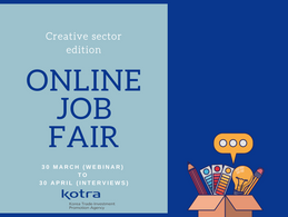 Online Job Fair 2021 Korea - Netherlands