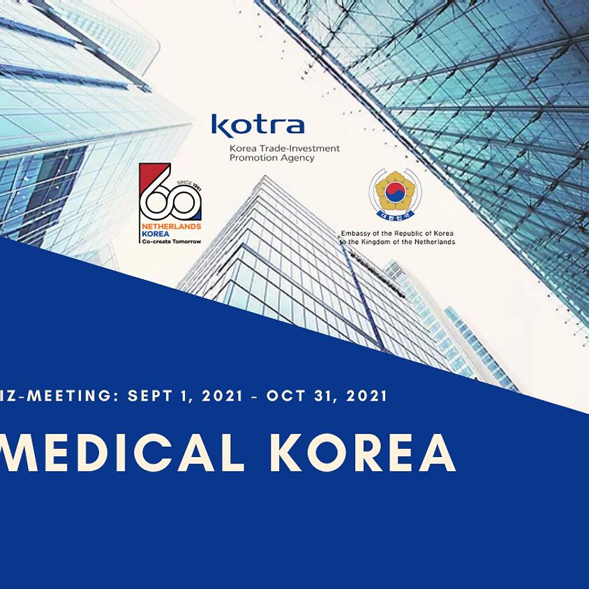 Medical & Bio health Industry Online Biz-Meeting [Sept 1- Oct 31]