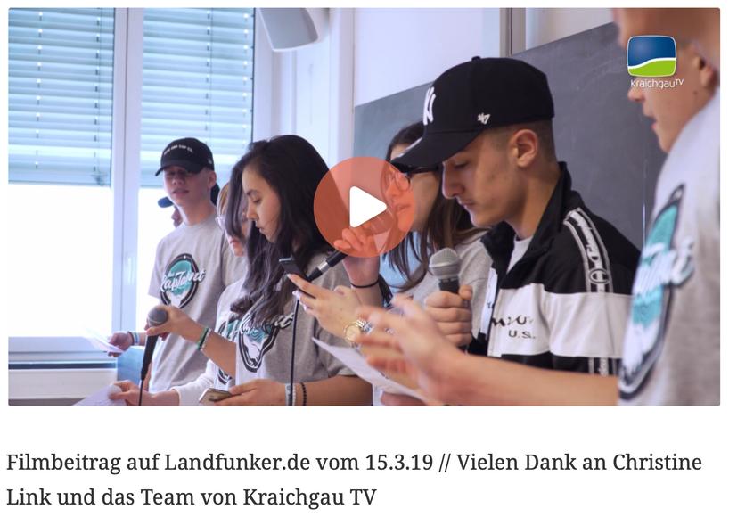 Filmbeitrag auf Landfunker.de vom 15.3.19 // Vielen Dank an Christine Link und das Team von Kraichgau TV