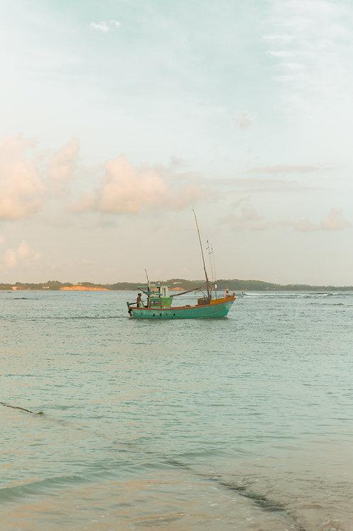 Sri Lankan Fisherman 11 x 14