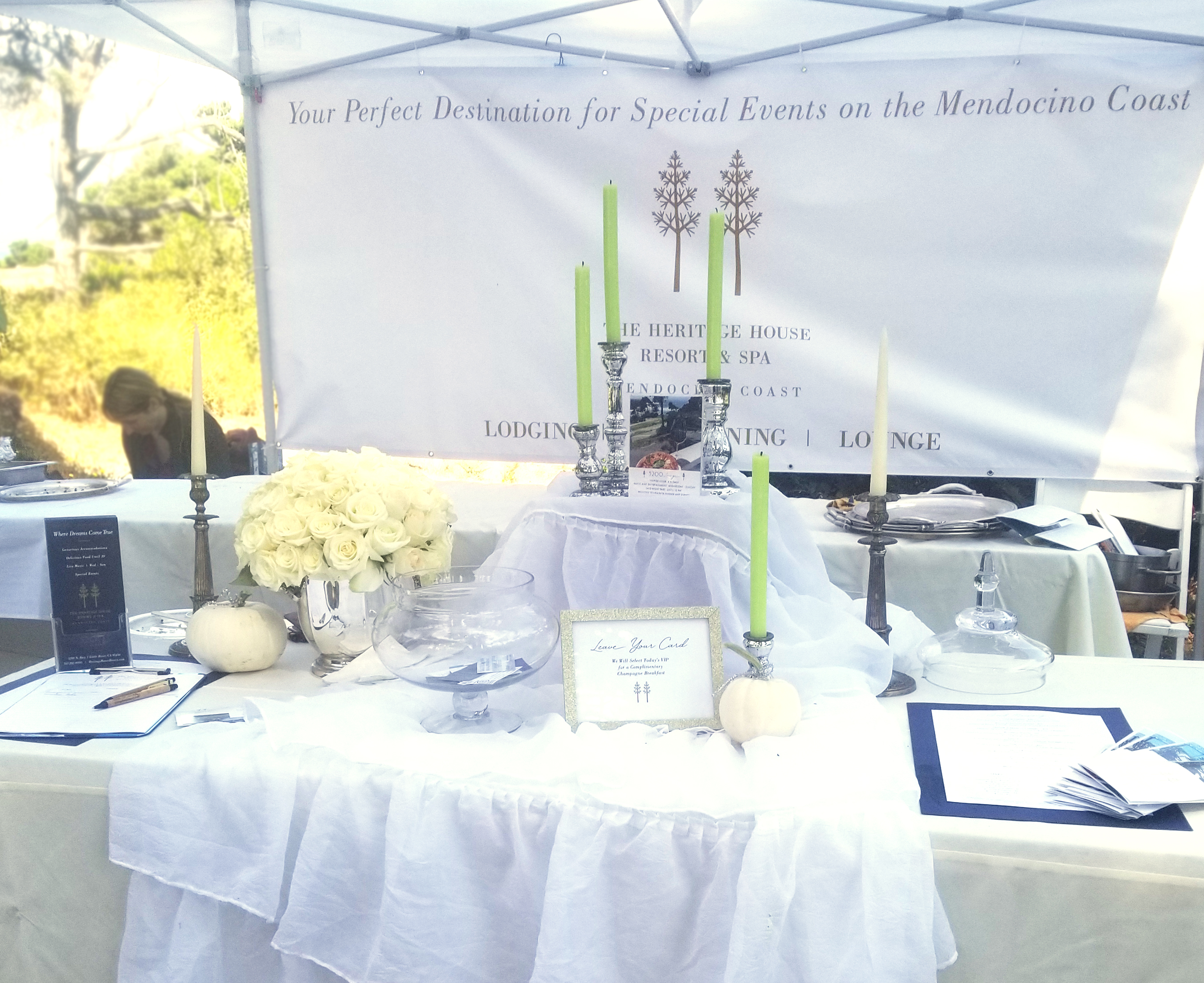 Heritage House Resort Winesong Booth