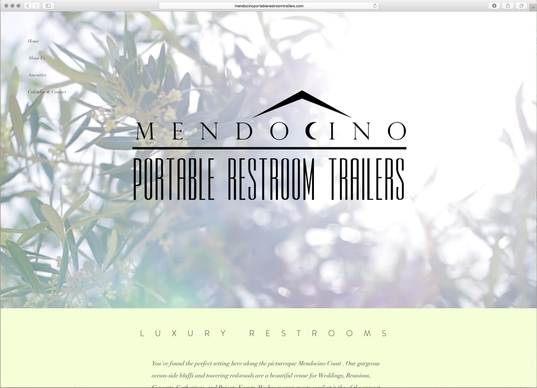 Mendocino Portable Restrooms