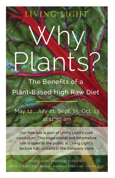 Why Plants - Educational Talk