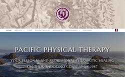 Pacific Physical Therapy Website
