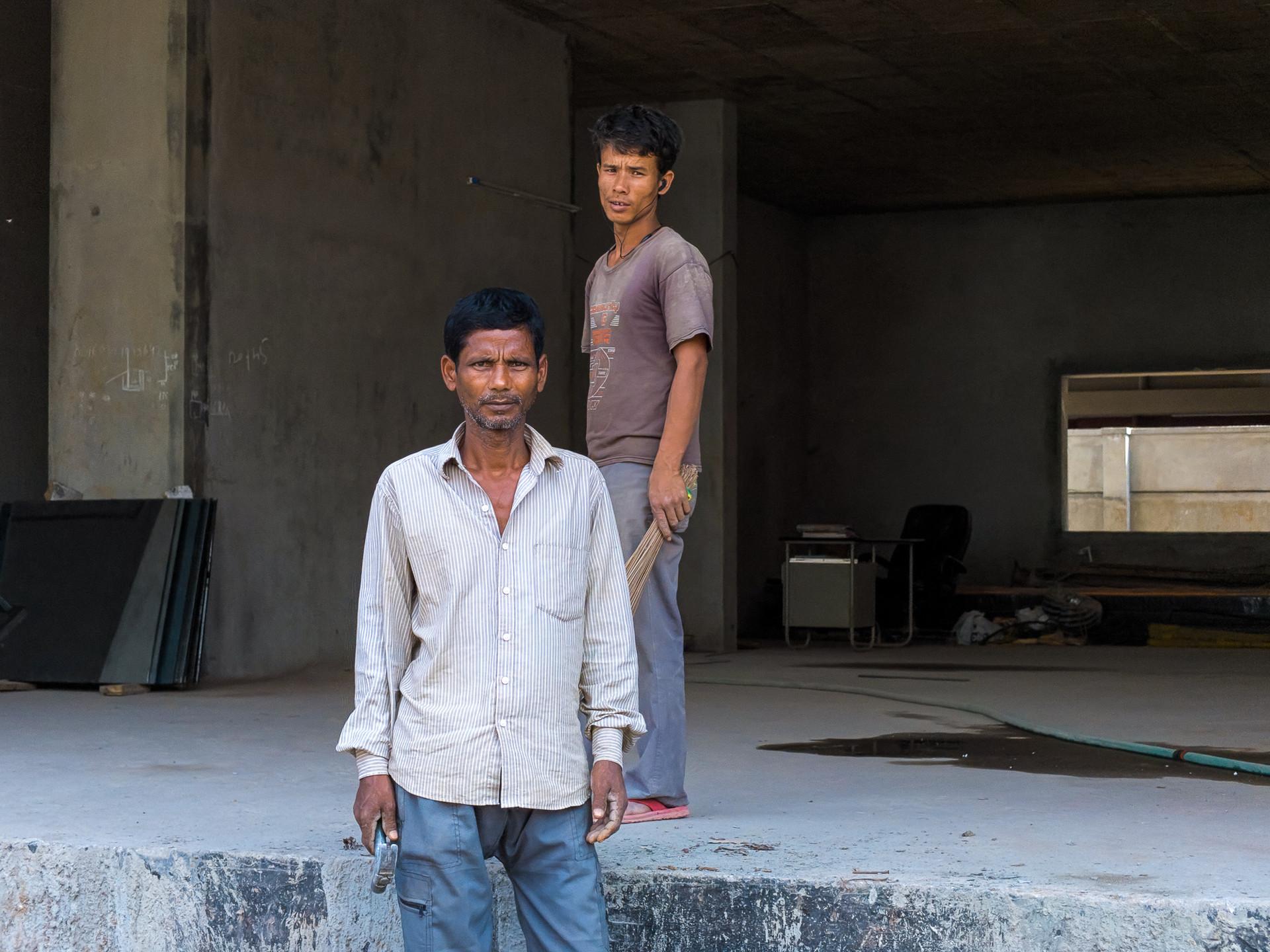 Portrait of Construction Workers