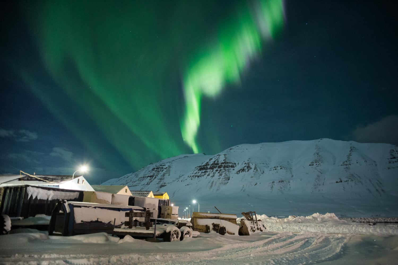 the spectacular aurora