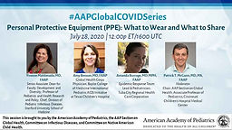 #AAPGlobalCOVIDSeries - Personal Protective Equipment (PPE): What to Wear and What to Share.