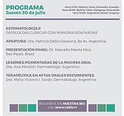 ESTOMATOLOGÍA II / PATOLOGÍAS CLÁSICAS CON MIRADAS RENOVADAS