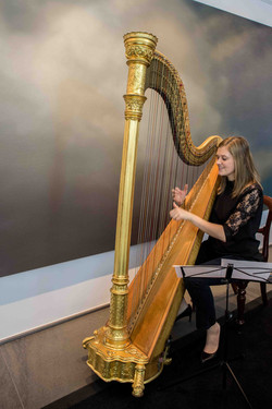 Vernissage Harfe
