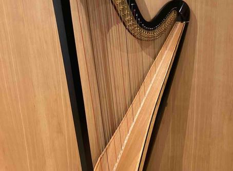 Konzertharfe L&H Style 30 schwarz
