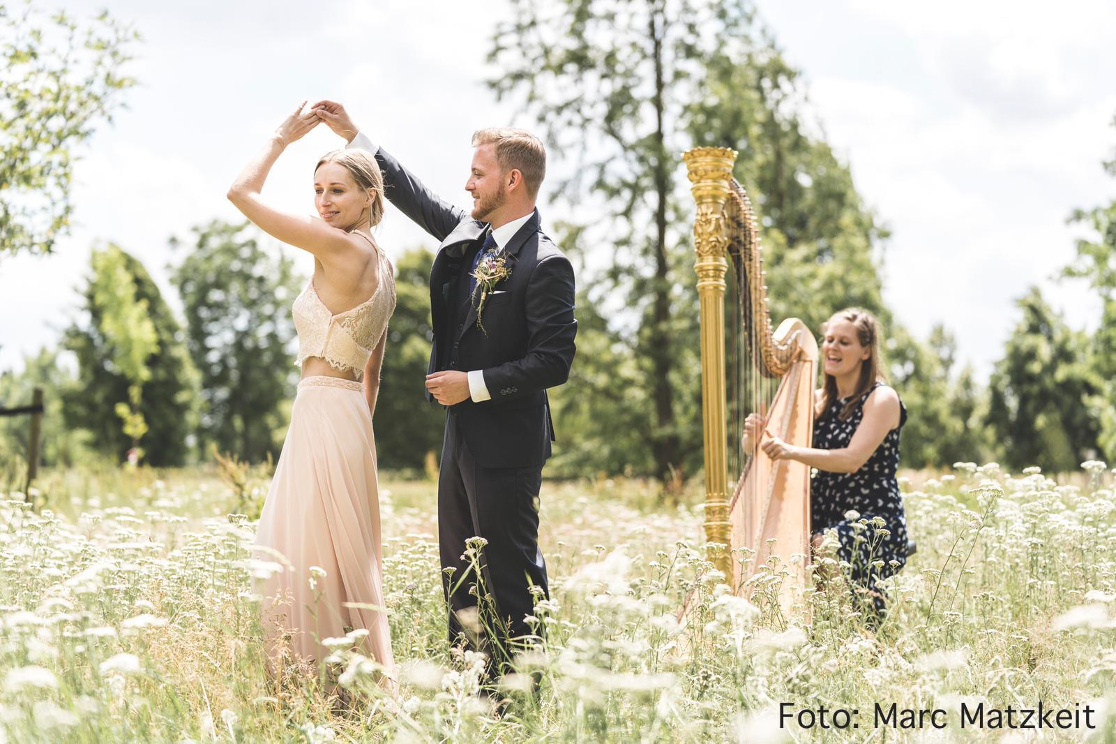 Hochzeitsshooting mit Livemusik