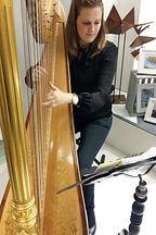 Harfe Vernissage