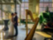 Harfe Hochzeit romantisch in Zeche