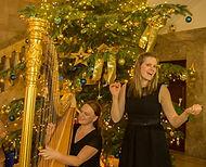 Harfenduo Harfe und Gesang