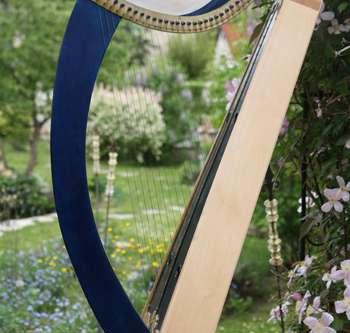 Brian Borus Wire Strung Clairsach Harp