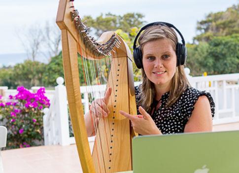 Harfe Online Unterricht
