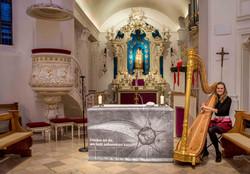 Dyckburgkirche Münster Hochzeitsharf