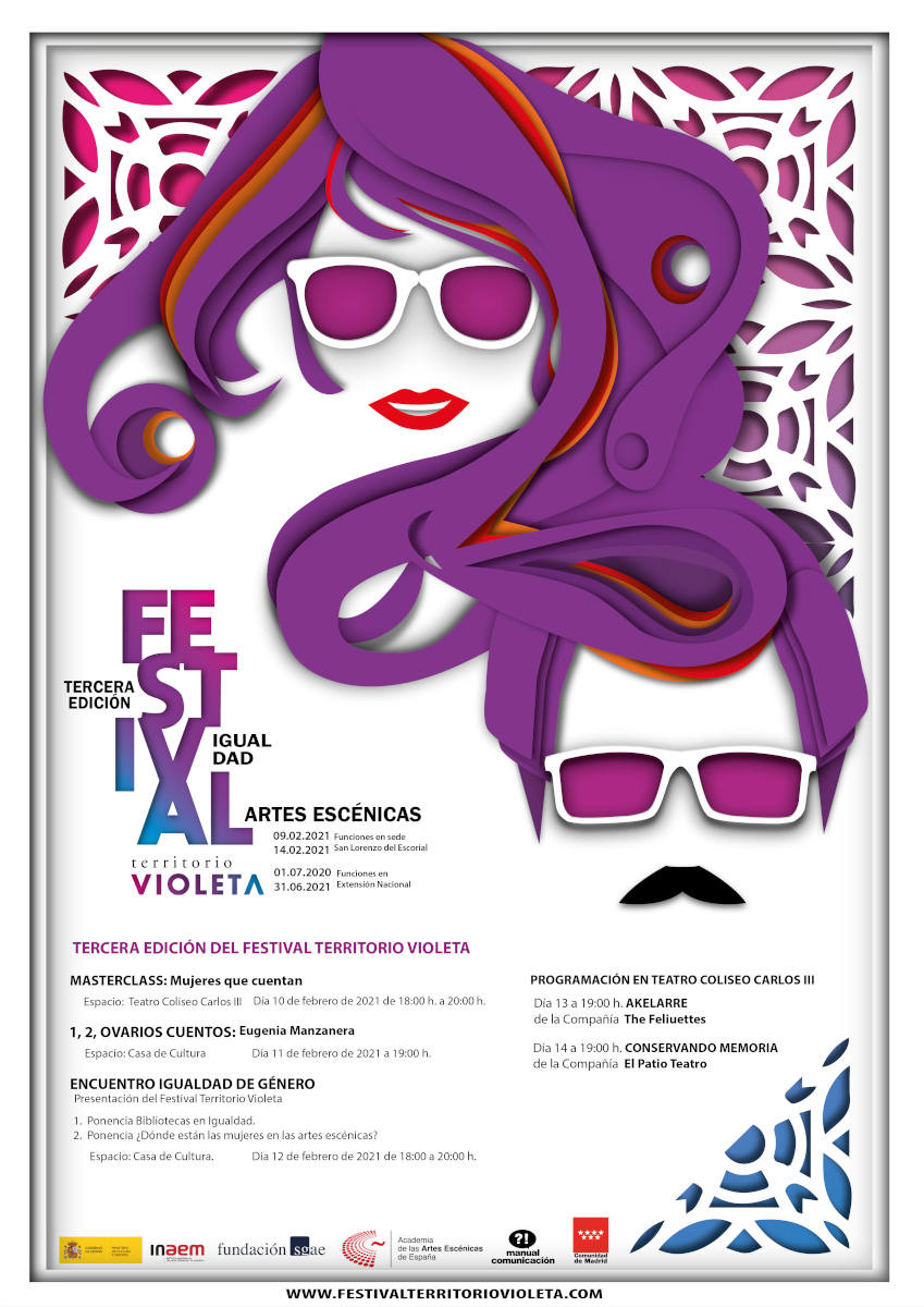 III Festival #TerritorioVioleta en San Lorenzo de El Escorial