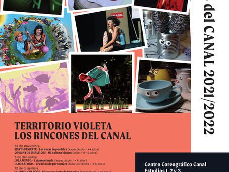 Nueva edición de LOS RINCONES DEL CANAL de TERRITORIO VIOLETA